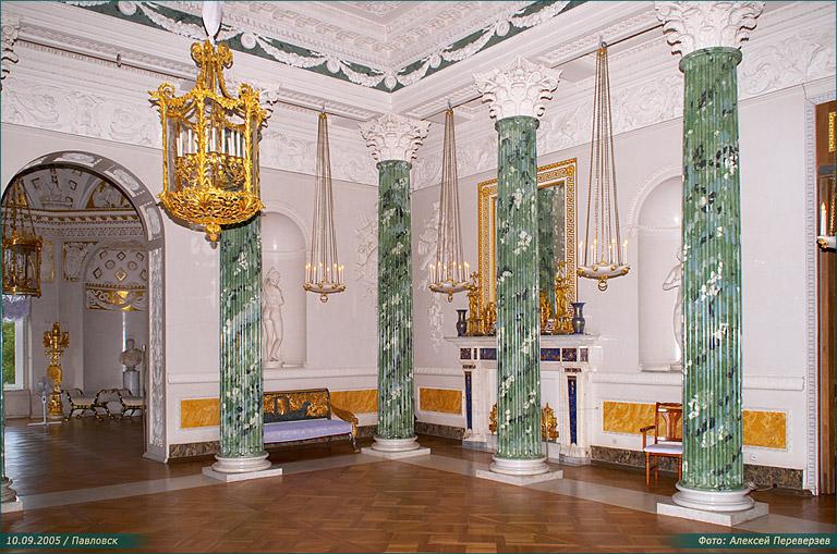 Интерьер греческого зала